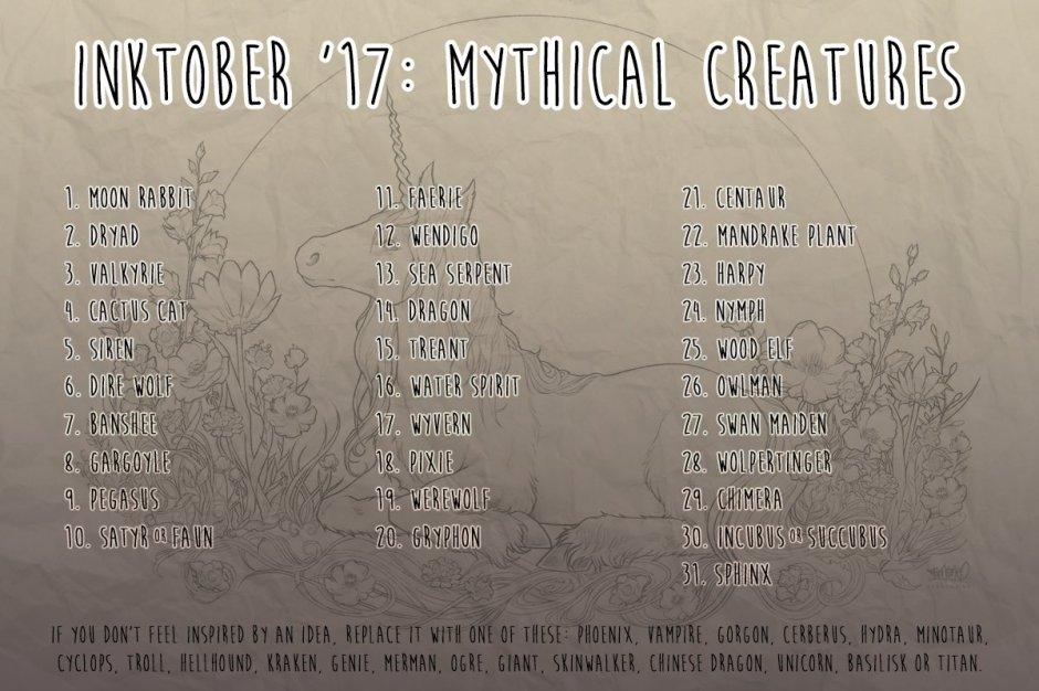 mythicalinktober