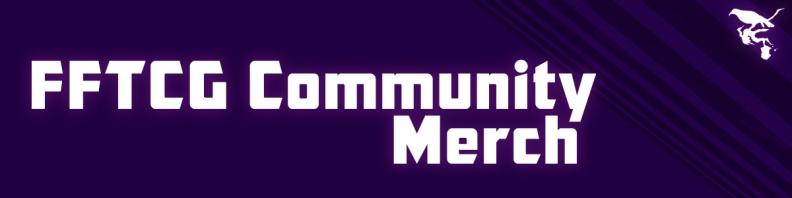 FFTCG Community Merch store logo